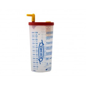 Flacone autoclavabile per aspiratore chirurgico OB2012