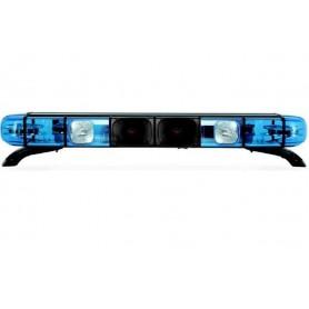 BARRA LAMPEGGIANTE ALCYONE 2S9 1047MM 12V BLU COMPLETA