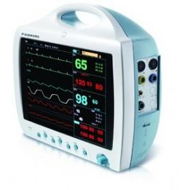 Monitor paziente completo di stampante a 12 derivazioni