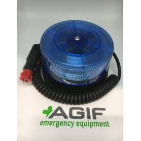 LAMPEGGIANTE MAGNETICO 9LED BLU OMOLOGATO 200KM/H FLEXILED