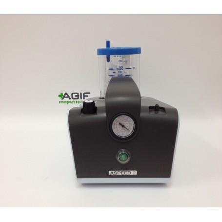 ASPIRATORE CHIRURGICO ASPEED 2 - 230 V - pompa singola