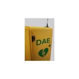 Combinatore telefonico per teca defibrillatore
