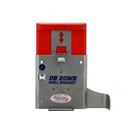Supporto da paretecon sistema di ricarica per aspiratore OB2012