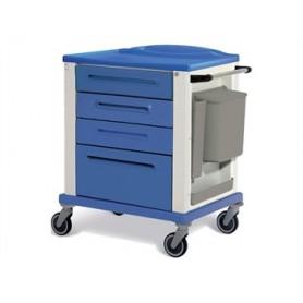 CARRELLO BASIC - standard - 4 cassetti - blu