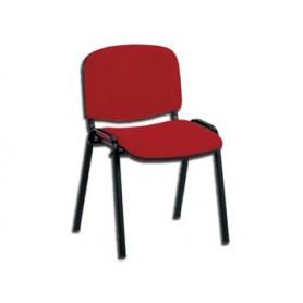 SEDIA ISO - tessuto rosso
